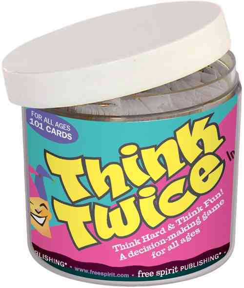 Think Twice in a Jar By Free Spirit Publishing (COR)